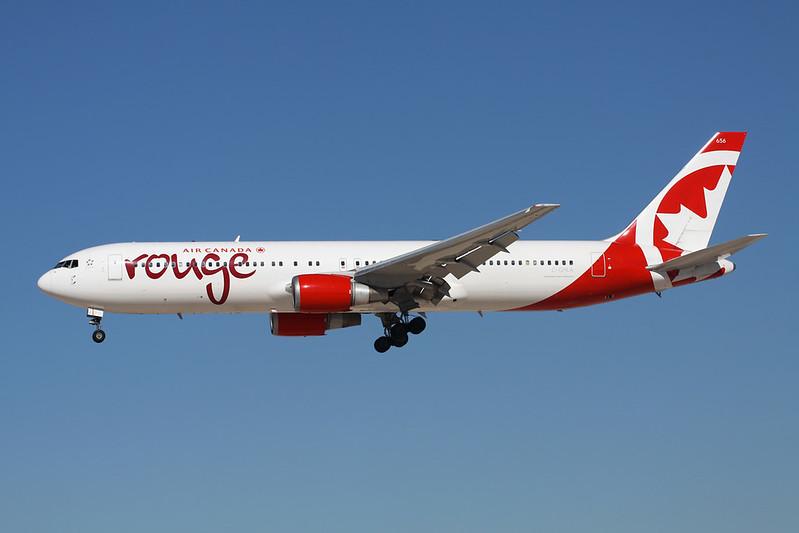 C-GHLA Boeing 767-35HER c/n 26387 Las Vegas-McCarran/KLAS/LAS 13-11-16