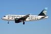 "N921FR Airbus A319-111 c/n 2010 Las Vegas-McCarran/KLAS/LAS 13-11-16 ""Mountain Goat"""