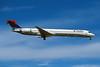 N915DN Douglas MD90-30 c/n 53395 Las Vegas/KLAS/LAS 10-03-04 (35mm slide)