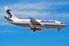 """XA-NAK Boeing 737-219 """"AVIACSA"""" c/n 23474 Las Vegas/KLAS/LAS 10-03-04 (35mm slide)"""