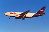 N431FE Airbus A310-203F c/n 316 Las Vegas/KLAS/LAS 10-03-04 (35mm slide)