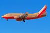 N504SW Boeing 737-5H4 c/n 24181 Las Vegas/KLAS/LAS 11-03-04 (35mm slide)