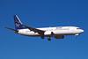 """N975RY Boeing 737-86N """"Ryan International Airlines"""" c/n 28592 Las Vegas/KLAS/LAS 11-03-04 """"TransGobal Vacations"""" (35mm slide)"""