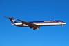 """N809ME Douglas MD-82 """"Midwest Airlines"""" c/n 48071 Las Vegas/KLAS/LAS 11-03-04 (35mm slide)"""