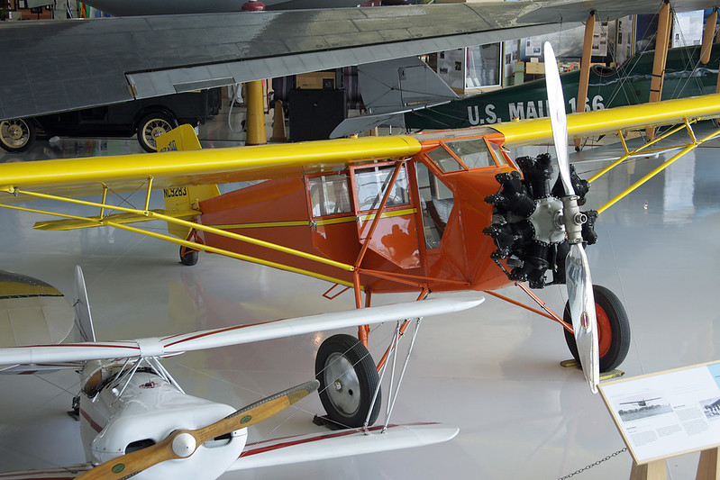 N9283 Curtiss-Wright Robin c/n 337 McMinnville/KMMV/MMV 09-05-09