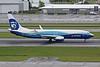 """N512AS Boeing 737-890 c/n 39043 Portland-International/KPDX/PDX 12-05-09 """"Dreamliner"""""""