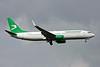 """EZ-A017 Boeing 737-82K """"Turkmenistan Airlines"""" c/n 43863 Heathrow/EGLL/LHR 13-09-14"""