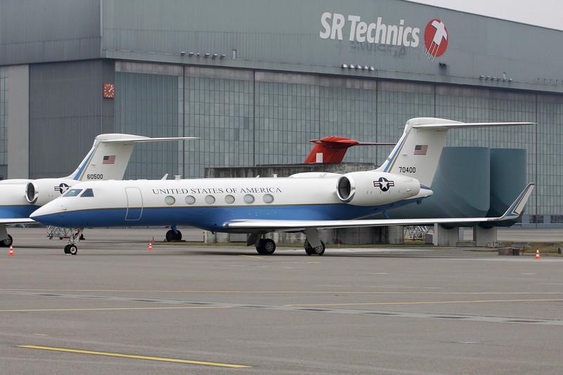 """97-0400 Gulfstreram C-37A """"United States Air Force"""" c/n 521 Zurich/LSZH/ZRH 26-01-12"""