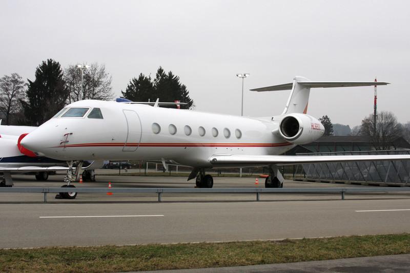 HL8200 Gulfstream G550 c/n 5233 Zurich/LSZH/ZRH 26-01-12