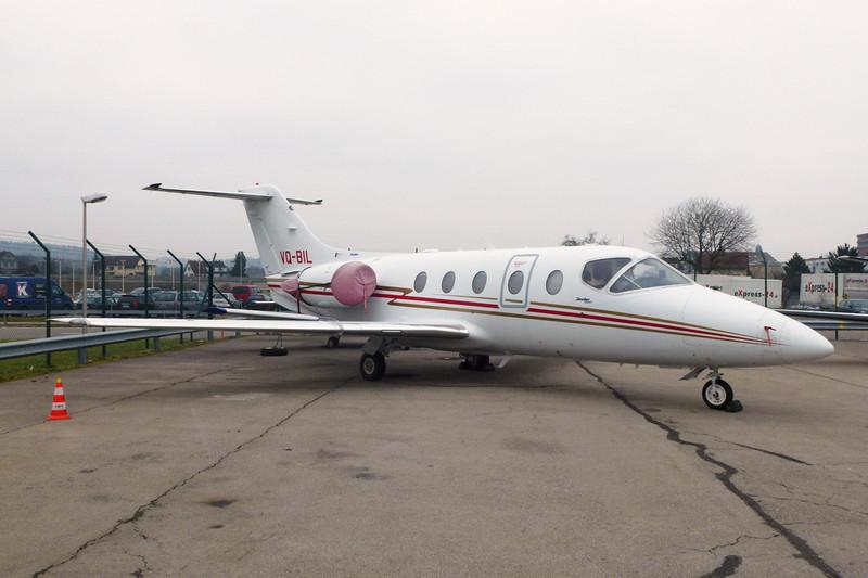 VQ-BIL Beech 400XP Beechjet c/n RK-480 Zurich/LSZH/ZRH 26-01-12