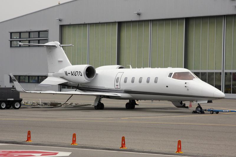 M-AUTO Learjet 60 c/n 60-027 Zurich/LSZH/ZRH 26-01-12