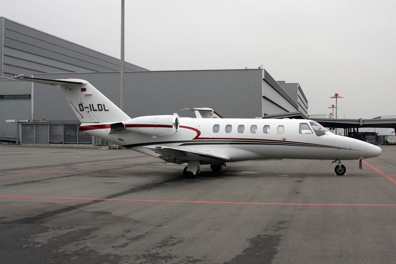 D-ILDL Cessna 525A Citation Jet 2 c/n 525A-0167 Zurich/LSZH/ZRH 26-01-12