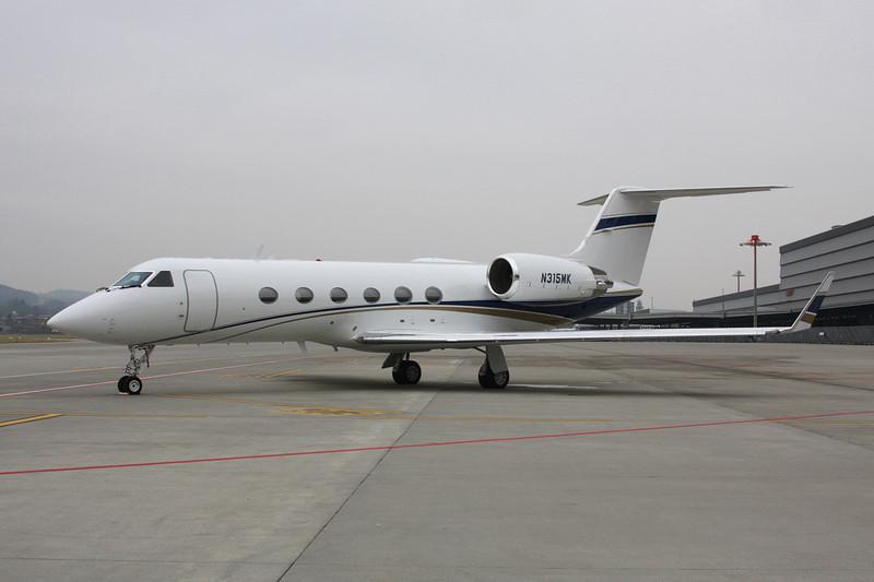 N315MK Gulfstream G4 c/n 1206 Zurich/LSZH/ZRH 26-01-12