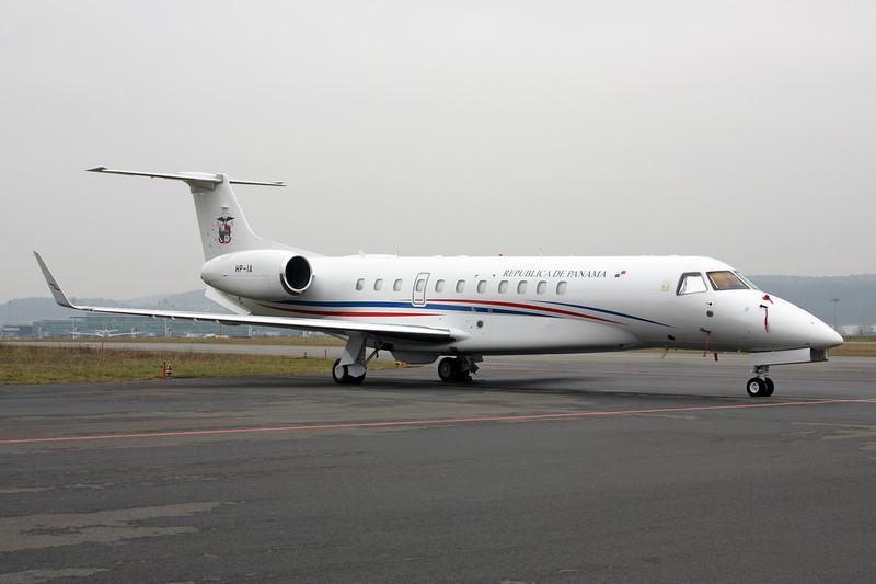 """HP-1A Embraer ERJ-135BJ Legacy 600 """"Panamanian Government"""" c/n 14501066 Zurich/LSZH/ZRH 26-01-12"""