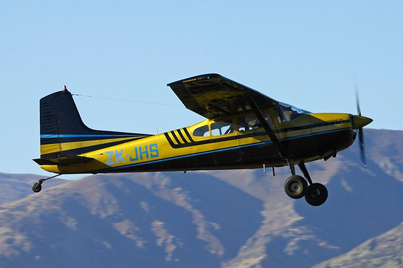 ZK-JHS Cessna 185C Skywagon c/n 185-0677 Wanaka/NZWF/WKA 07-04-12