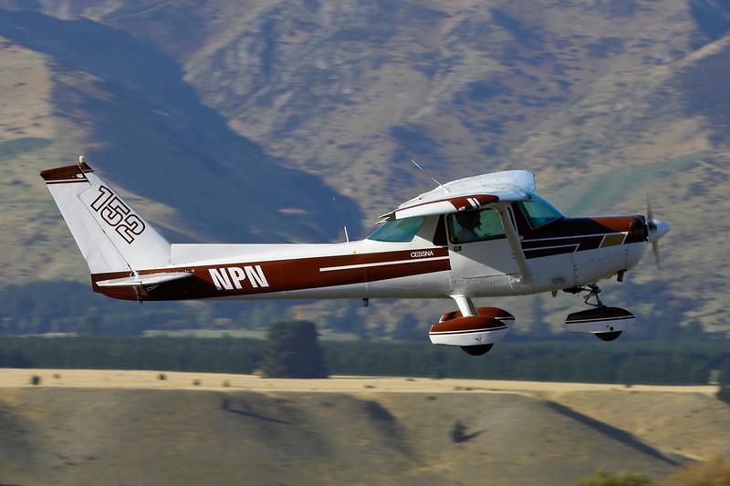 ZK-NPN Cessna 152 c/n 152-81623 Wanaka/NZWF/WKA 07-04-12