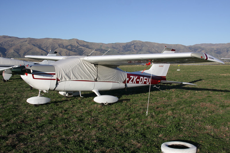 ZK-DFU Cessna 177B Cardinal c/n 177-01663 Wanaka/NZWF/WKA 06-04-12
