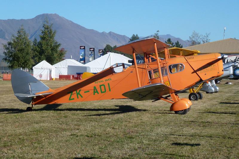 ZK-ADI de Havilland DH-83 Fox Moth c/n 4097 Wanaka/NZWF/WKA