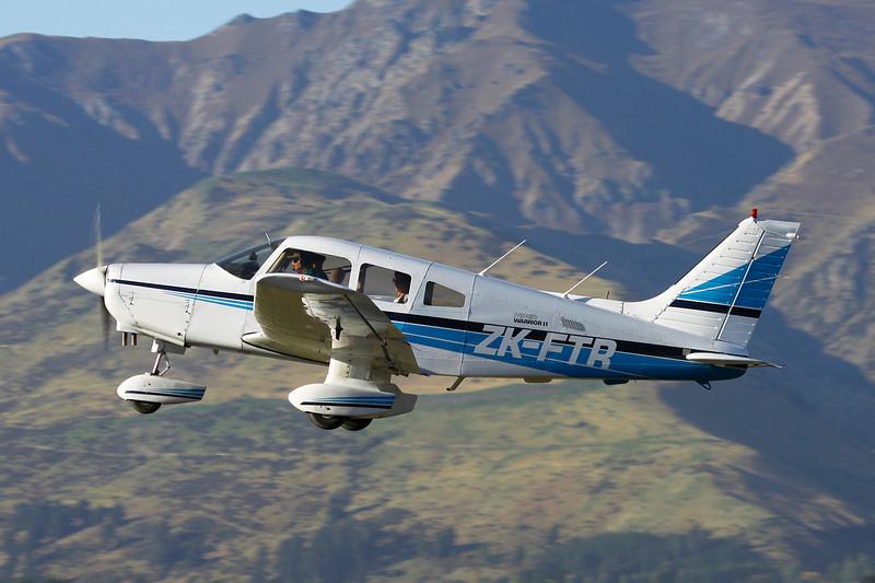 ZK-FTR Piper PA-28-161 Warrior II c/n 28-8216133 Wanaka/NZWF/WKA 07-04-12