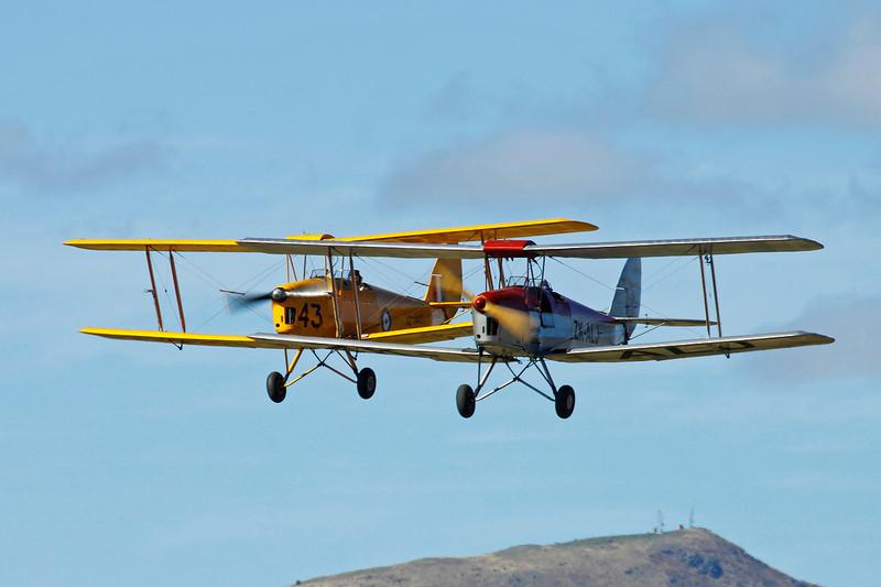 ZK-ALJ de Havilland DH-82A Tiger Moth c/n 83499 Wanaka/NZWF/WKA 08-04-12