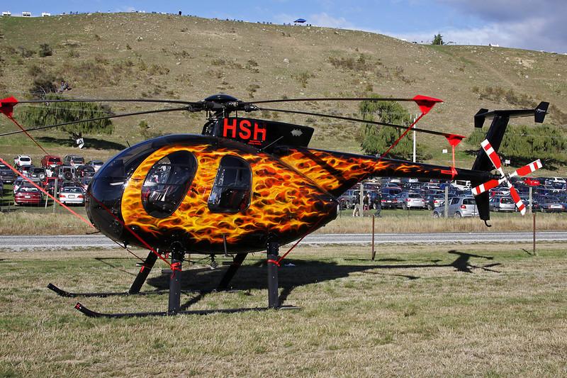 ZK-HSH Hughes 369D c/n 0532D Wanaka/NZWF/WKA 08-04-12