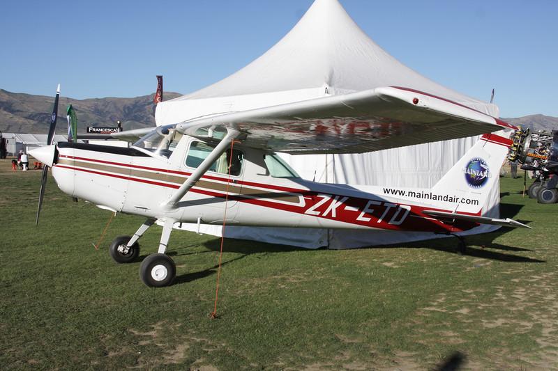 ZK-ETD Cessna 152 c/n 152-84195 Wanaka/NZWF/WKA 06-04-12