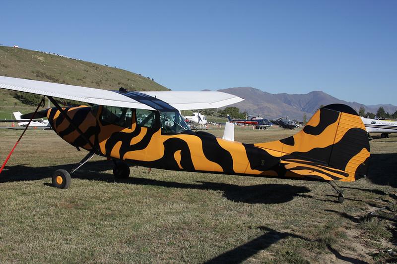 ZK-NAM Cessna TL-19D Bird Dog c/n 24106 Wanaka/NZWF/WKA 06-04-12
