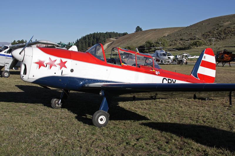 ZK-CPY de Havilland Canada DHC-1 Chipmunk 22A c/n C1/0389 Wanaka/NZWF/WKA 06-04-12