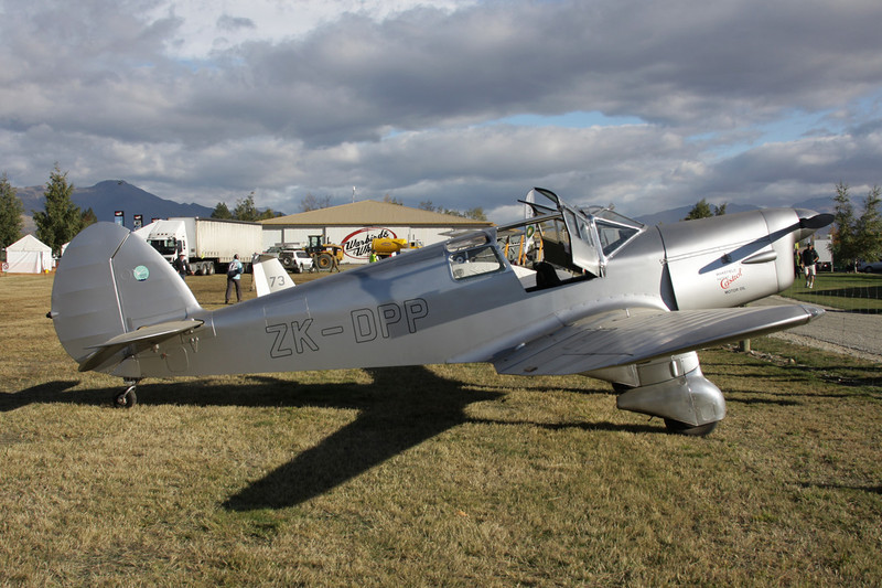 ZK-DPP Percival P.28 Proctor IB c/n K.305 Wanaka/NZWF/WKA 08-04-12