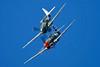 "ZK-CAG (A29-448/GA-C) Curtiss P-40N Warhawk ""Royal Australian Air Force"" c/n 28492 Wanaka/NZWF/WKA 08-04-12 (in formation with ZK-RMH)"