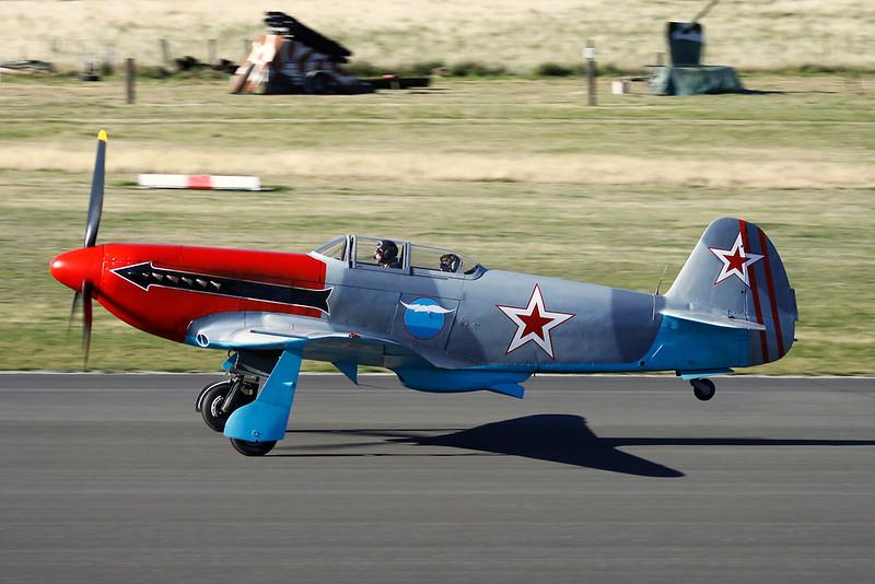 ZK-VVS Yakovlev Yak-3UA c/n 0470106 Wanaka/NZWF/WKA 06-04-12