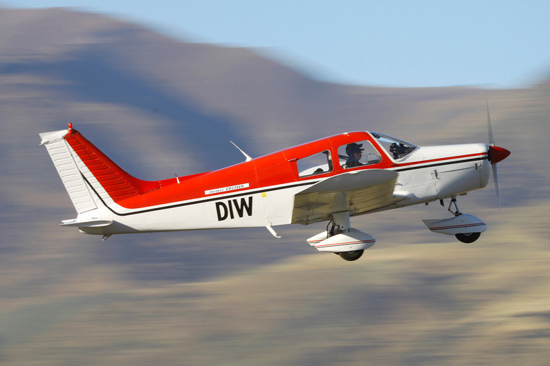 ZK-DIW Piper PA-28-140 Cherokee c/n 28-7425008 Wanaka/NZWF/WKA 07-04-12
