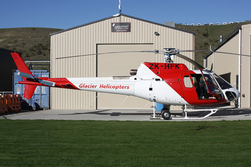 ZK-HFK Aerospatiale AS.350B2 Ecureuil c/n 1397 Wanaka/NZWF/WKA 06-04-12