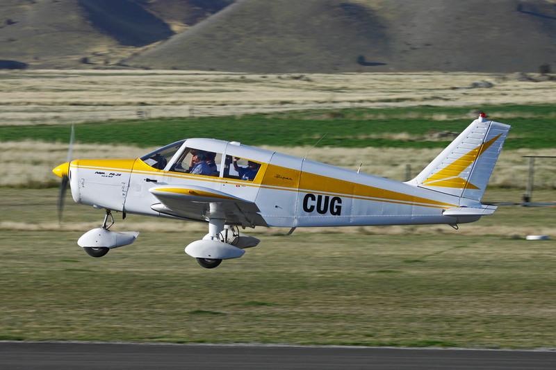 ZK-CUG Piper PA-28-140 Cherokee c/n 28-24496 Wanaka/NZWF/WKA 07-04-12