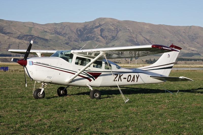 ZK-OAY Cessna TU.206F Turbo Stationair c/n U206-02397 Wanaka/NZWF/WKA 06-04-12