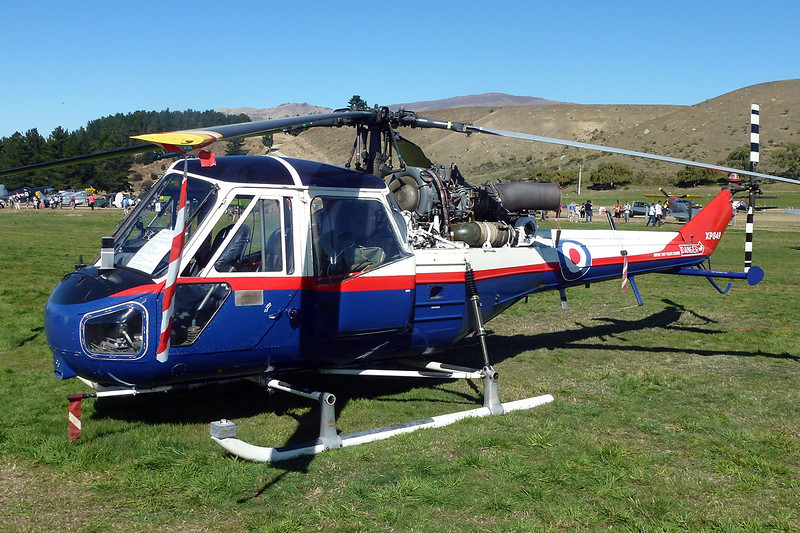 ZK-HQU (XP849) Westland Scout AH.1 c/n F.9475 Wanaka/NZWF/WKA 06-04-12