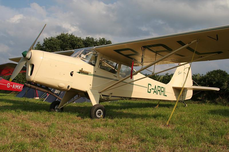 G-ARRL Auster J/1N Alpha c/n 2115 Verviers-Theux/Laboru 01-09-07