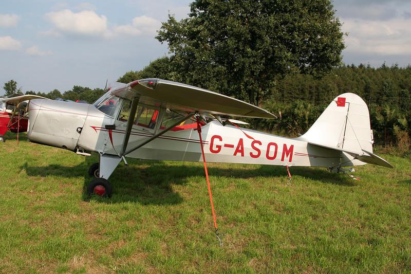 G-ASOM Beagle A.61 Terrier 2 c/n B.622 Verviers-Theux/Laboru 01-09-07