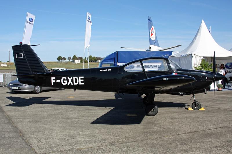 F-GXDE Fuji FA-200-180 Aero Subaru c/n 214 Chateauroux/LFLX/CHR 26-08-15