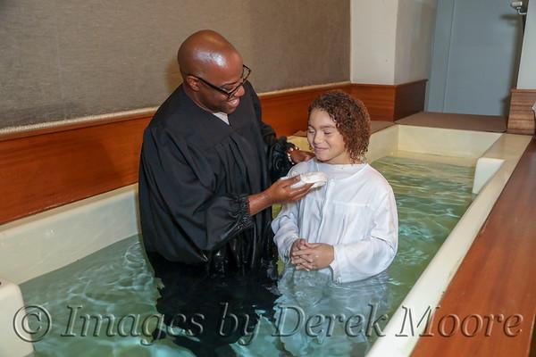 Tristan's Baptism