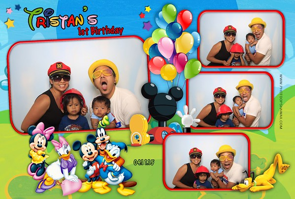 Tristan's First Birthday (Fusion Photo Booth)