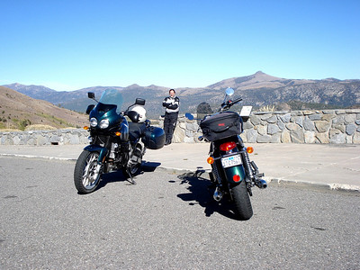 Carson Pass on our Markleeville/Kirkwood Ride, October 2008