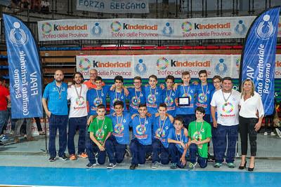 Premiazioni Trofeo delle Province 2017 - Lombardia Bergamo - 28 maggio 2017
