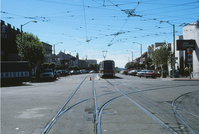 SFMR Muni - Sep 26 1988 - West @ west end Subway - San Francisco CALI