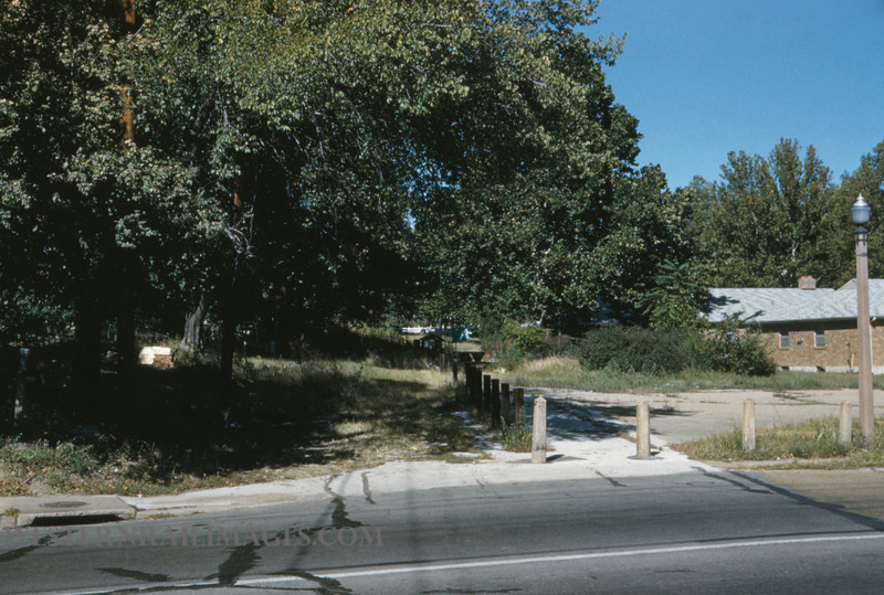 PSCO 166 - Sep 24 1956 - Brentwood Forest Park R of W at Dale Ave Loop Richmond Heights MO