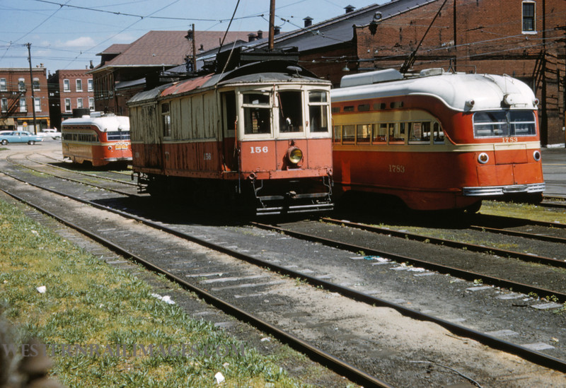 PSCO 234 - May 28 1958 - 156 & 1783 at S Broadway Bar - St Louis MO