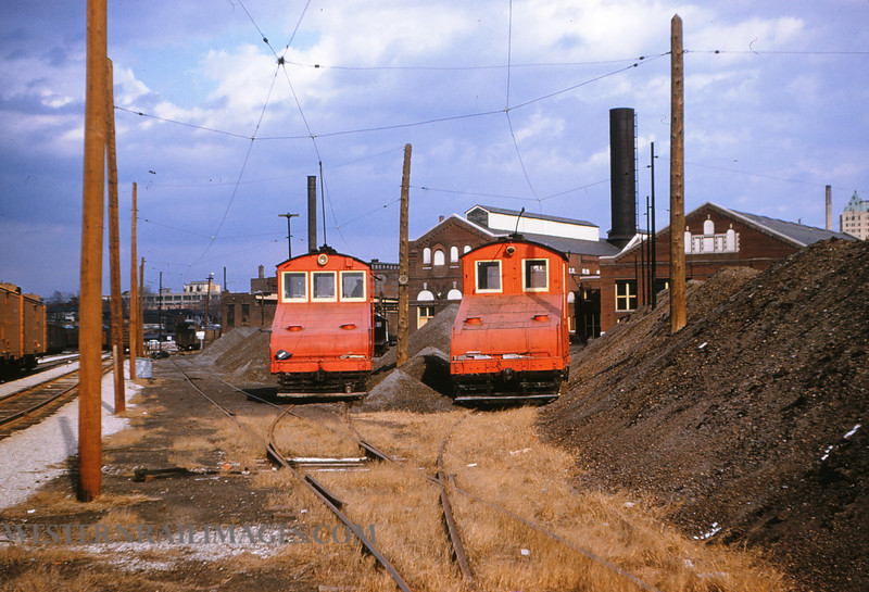 PSCO 81 - Mar 3 1955 - 97 & 99 @ Park Cinder Yards St  Louis MO