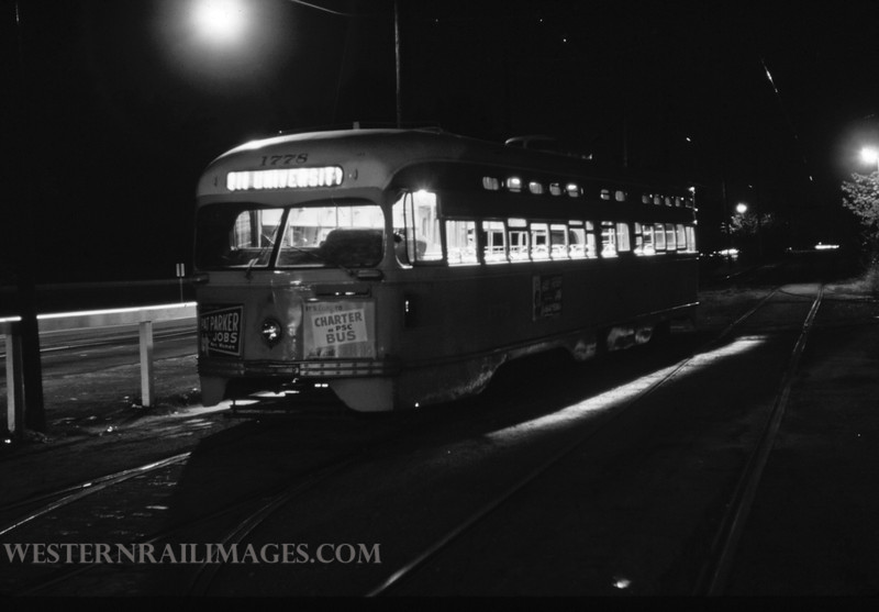 PSCO 249 - Aug 30 1960 - pcc car @ Big Bend Loop 1778 - St Louis MO