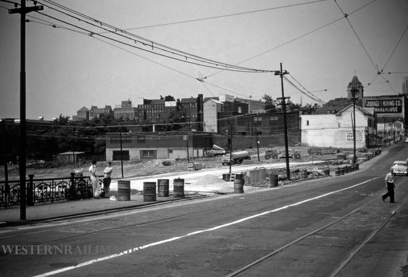 PSCO 117 - Jun 19 1955 - Grand & Market looking north - St Louis MO