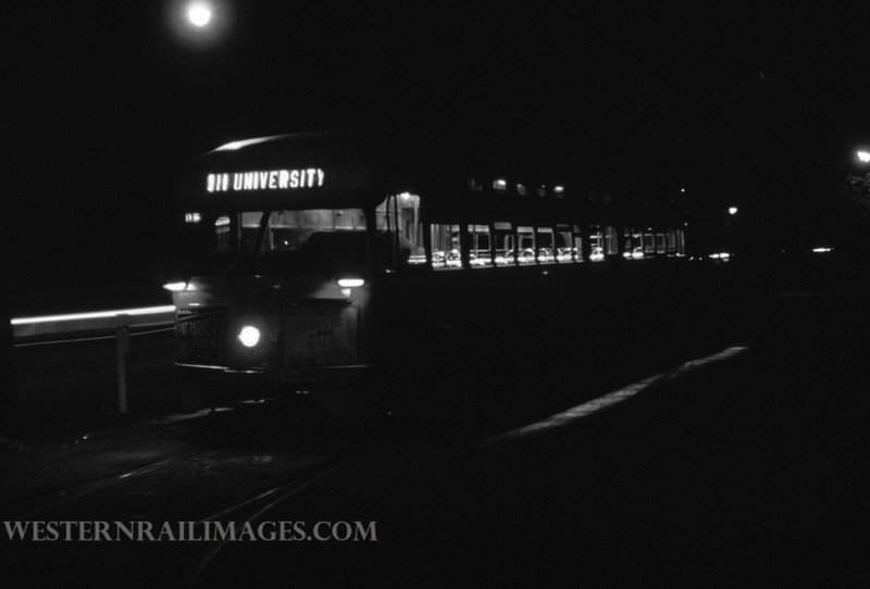PSCO 250 - Aug 30 1960 - pcc car on Big Bend Loop - St Louis MO